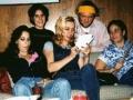 gabby, tia, kate, jeremy & me looking at photos
