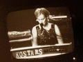 vivian with the kostars at irving plaza 1996